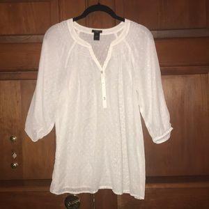 Ann Taylor 3/4 sleeve blouse